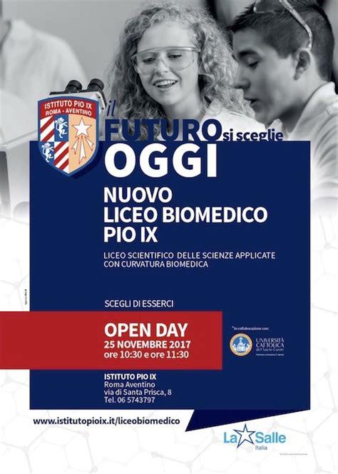 test ingresso ingegneria biomedica il futuro si sceglie oggi il 25 novembre l open day