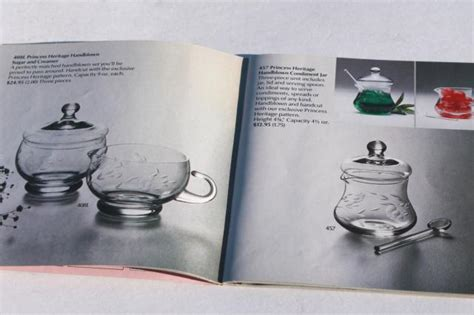vintage princess house glass home party catalog