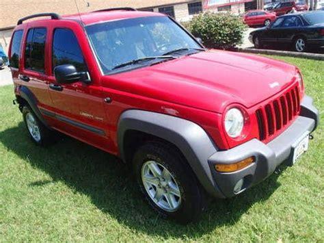 crashed jeep liberty sell used 2002 jeep liberty sport 4x4 salvage damaged