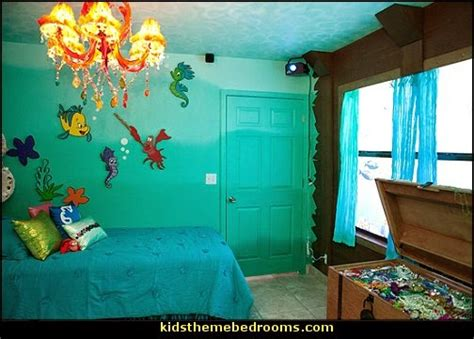 the little mermaid bedroom decor decorating theme bedrooms maries manor little mermaid