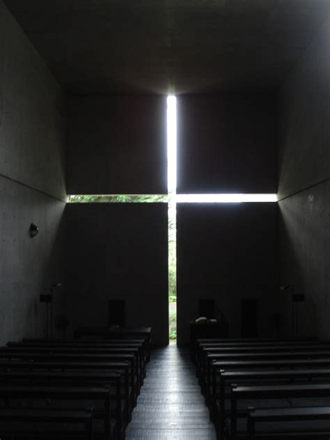 church of light floor plan ad classics church of the light tadao ando architect
