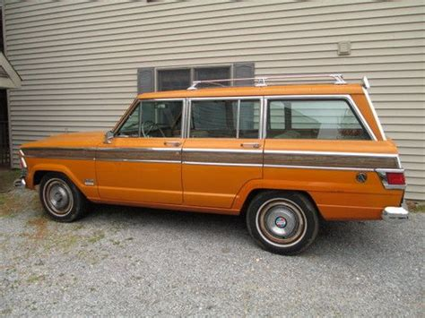 1972 Jeep Wagoneer Purchase Used 1972 Jeep Wagoneer S 360 Buckets Excellent