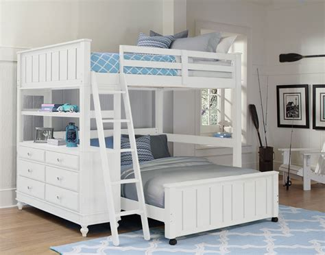 White Loft Bed by White Lake House Loft Bed Rosenberryrooms