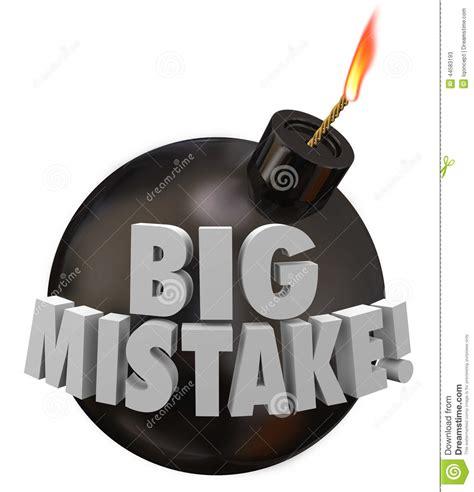 bid up big mistake bomb error up blunder danger stock