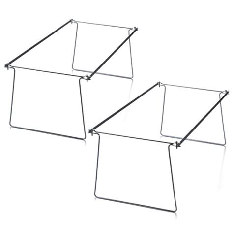 hanging file drawer size officemate hanging file frames letter size twin pack