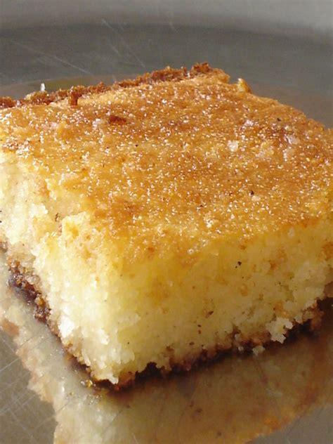 recette de cuisine am駻icaine basboussa vanillee au yaourt egypte coconut