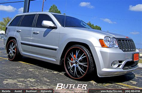 srt8 jeep rims jeep srt8 with 24in dub type 12 wheels a photo