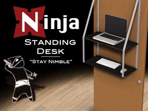 standing desk by dan mcdonley via kickstarter
