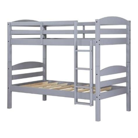 twin bunk bed for kids converts to two solid wood guard rails ladder espresso ebay 11 best bunk beds for kids in 2018 trendy kids bunk beds for all ages