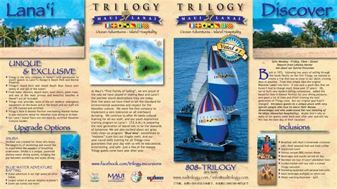 island brochure template image gallery hawaii travel brochure