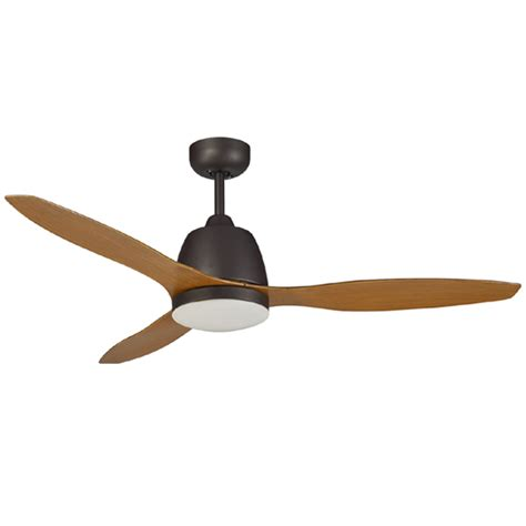 Ceiling Fan With Led by Elite Ceiling Fan By Martec With Led Bronze With
