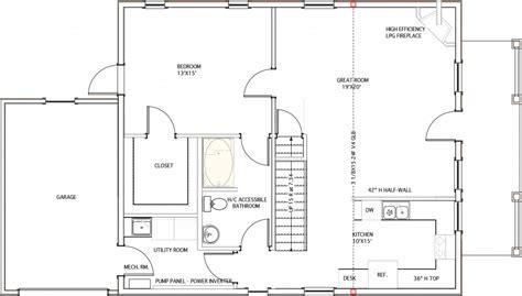 zero energy house plans plan c 11 zero energy home plans
