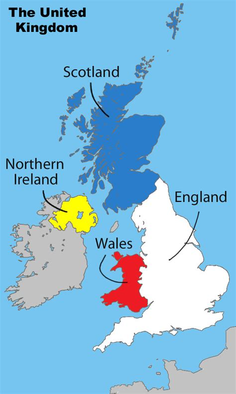 map of the united kingdom christopher s expat adventure united kingdom of great britain and northern ireland