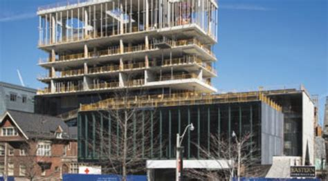 Toronto Rotman Mba by Daily Commercial News Eastern Construction Continues