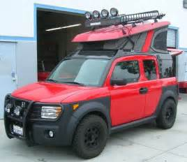 Honda Element Roof Tent Beefcake Honda Element Offroad Ecer Airstream Rv And