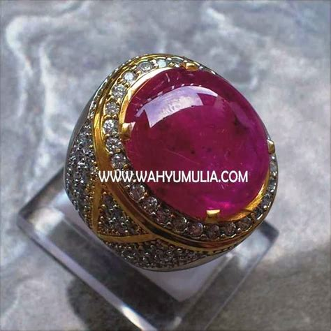 Cincin Batu Ruby Big Size Memo batu permata ruby big size sold batu permata