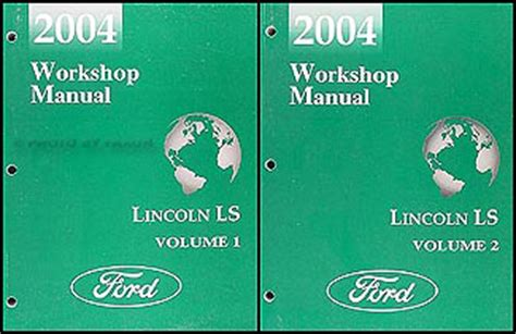 manual repair autos 2004 lincoln navigator free book repair manuals 2004 lincoln ls shop manual original 2 volume set repair service workshop books