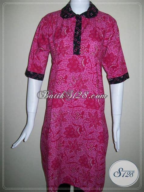 Gamis Wanita Selutut dress batik selutut untuk busana batik pesta wanita