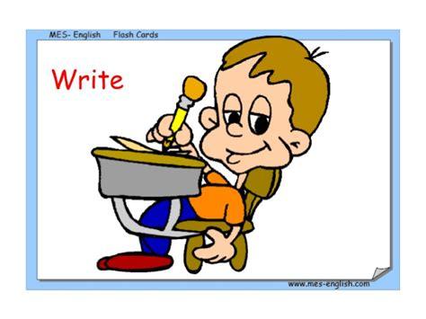imagenes de ingles write verbos en ingles verbs lists regular irregular