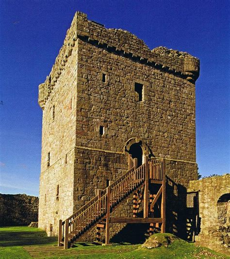 tower house lochleven castle 171 harrie the motorhome