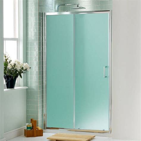 Frosted Glass Sliding Shower Doors Frameless Sliding Bi Fold Doors Installations Va Md Dc