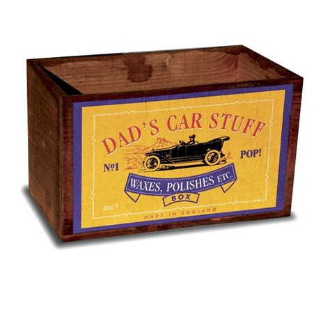 car crate vintage wooden dads car crate by the shepherd s hut notonthehighstreet