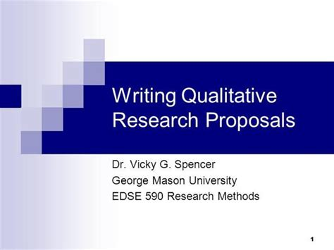 Writing Qualitative Research Proposals For Presentations Authorstream Microsoft Powerpoint Templates Research