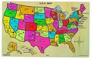 us map of states puzzle solagratiamom year 3 educational resources