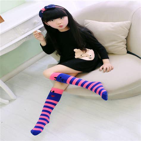 tattoo pattern socks cute kids girl cat pattern socks pantyhose slim tattoo