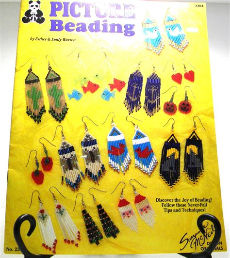 Picture Beading Beading Book Earring Beading By
