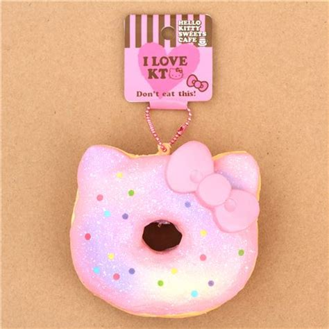Sale Sqiuishy Cake Hk Squishy Hk pink light purple colorful dot hello faulty donut squishy charm cheap squishies
