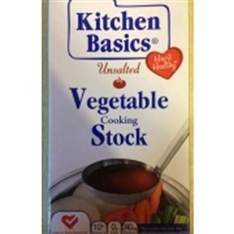 Kitchen Basics Unsalted Vegetable Stock Nutrition Kitchen Basics Unsalted Vegetable Cooking Stock Calories