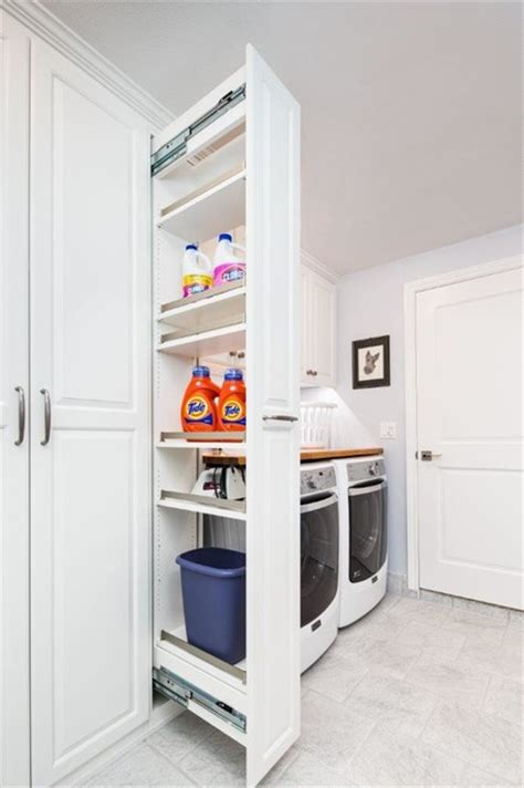 laundry room storage cabinet laundry room with workbench and storage traditional