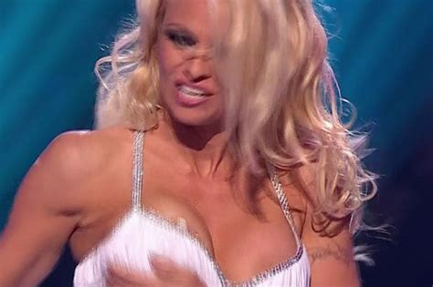 pamela wardrobe malfunction pamela anderson s nipple slip why do we spend so much time anticipating bare flesh on telly