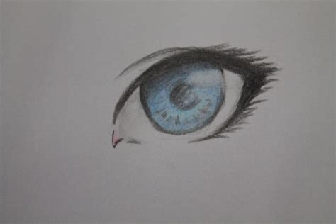 anime eyes drawing in pencil the way how to draw anime eyes use pencil colour by