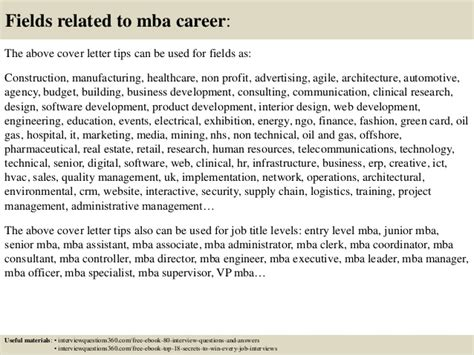 Best Cover Letter Writing Tips For Mba by Top 10 Mba Cover Letter Tips