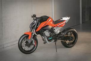 Ktm Prototype Ktm 790 Duke Prototype Debuts With Parallel Engine
