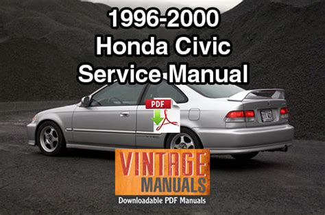 free service manuals online 2000 honda civic navigation system 1996 2000 honda civic repair service manual vintagemanuals