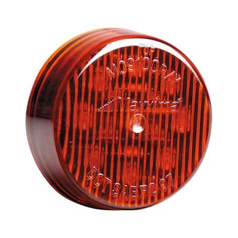 red led marker lights maxxima 174 round black red led marker light