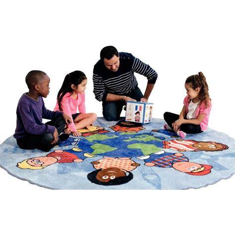 Jeux Avec Tapis Rond Couleur by Tapis Rond Enfants Du Monde Kit For Tapis De Jeu