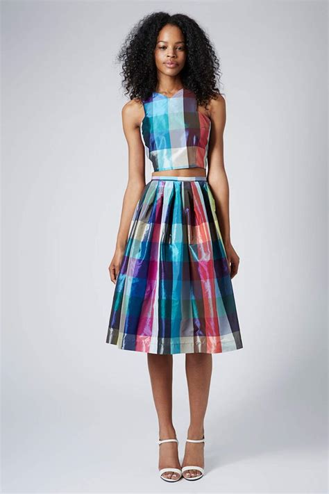 crop top and skirt set collection 2015 11 trends for womens