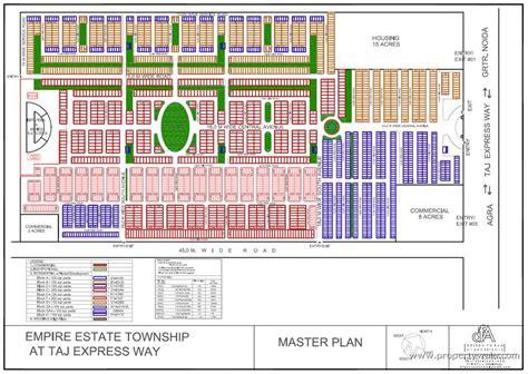 estate layout plan land registry logix empire estate yamuna expressway greater noida