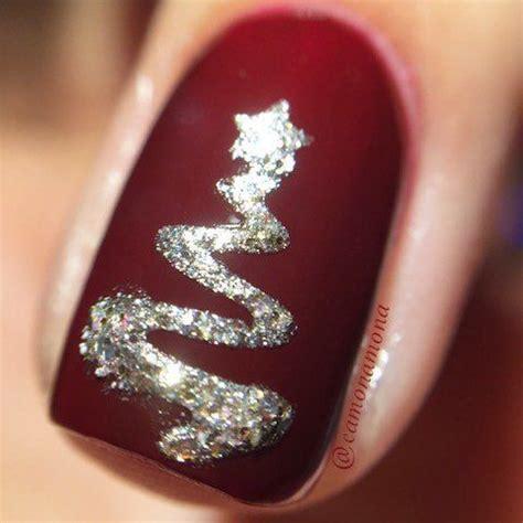 2018 christmas nails theme 60 u 241 as de navidad para decorar tus u 241 as durante navidad temporada fashion style es