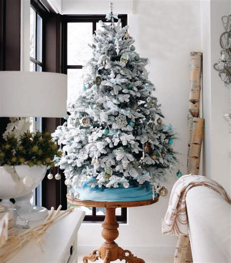 white flocked christmas tree decorating ideas christmas trees decorating ideas for home interior home