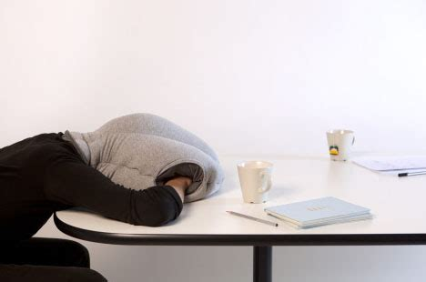Anywhere Comfort Travel Pillow by Ostrich Inspired Travel Pillow To Nap Anywhere Noise Free