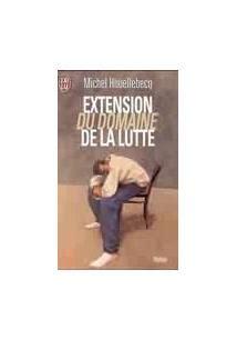 2290028517 extension du domaine de la extension du domaine de la lutte michel houellebecq livro