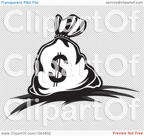 clipart dollar symbol money bag 6 royalty free vector
