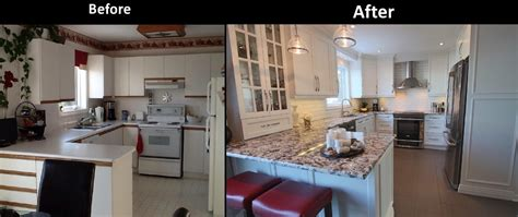 simple kitchen remodel magnificent before after small kitchen before after 11 renovation gurus