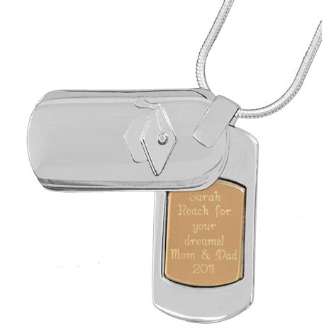 personalized tag personalized graduation tag pendant 200018 personalized gifts at sportsman s guide