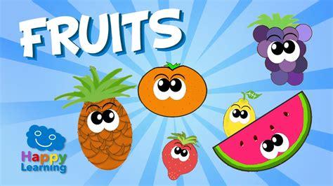 imagenes en ingles animadas aprende ingl 233 s las frutas en ingl 233 s videos educativos